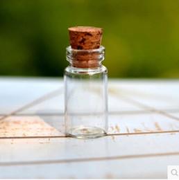 Wholesale Mini Glass Vial Pendant Necklaces - free shipping!!! 100pcs lot Wholesale Mini Glass Bottle Vials Charms Pendants 1ML11*22*7