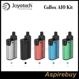 Wholesale Green Juice - Joyetech CuBox AIO Kit All-in-One Kit with 2000mAh Built-in Battery and 2ml e-Juice Capacity and Unique ProC-BF Series Head 100% Original