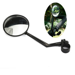 Wholesale Universal Rotatable Bike Bicycle Cycling MTB Mirror Handlebar Flexible Wide Angle Rear View Rearview Useful