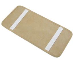 Wholesale Dvd Car Holder Bag - Capacity 12 Disks Car Cd Holder Auto Visor Dvd Disk Card Case Clipper Bag Organizer Cover Stowing Tidying