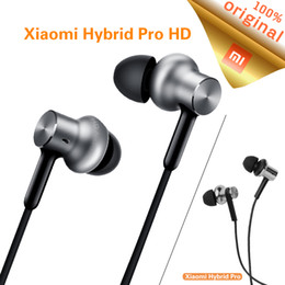 Wholesale Driver Control - Original Xiaomi Hybrid Pro HD Earphone Triple Driver Dynamic + Balanced Mi Headset Iron Circle Line Control with MIC audifonos