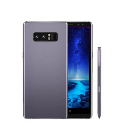 Wholesale Dual Core Gsm - ERQIYU Goophone note 8 note8 cell phones 6.2inch shown 4g lte gsm MTK6592 Octa Core 4GB 128GB Android 7.0 Unlocked Smartphones