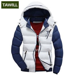 Wholesale Coat Handsome - TAWILL Brand New Fashion 2016 Winter Jacket Men Warm Casual Parka Men padded Winter Jacket Casual Handsome Winter Coat 78