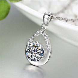 Wholesale Wholesale Jewelry Items - 925 sterling silver jewelry wholesale fashion star with silver pendant necklace item ornaments wholesale belief Valentine's Day to send his