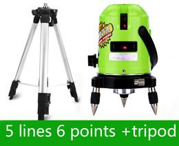 Ebene stative online-Wholesale-laser level 360 mit Stativ nivel Laser kann mit Outdoor-Empfänger Schrägstrich Funktion Leveler Laser Leveling Level Laser verwenden