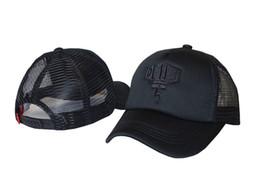 Wholesale Hiphop Skull Cap - 2016 new style DEUS mesh skull Snapback hats golf sports hiphop mens women classic bone swag baseball caps