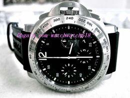 Wholesale Daylight Watch - Factory Supplier Luxury Wristwatch Stainless Steel Black Dial Automatic Mens Men's Watch Watches 44 mm STEEL DAYLIGHT 250 00250