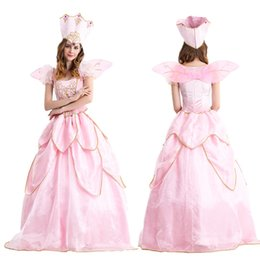 Wholesale Beautiful Princess Costumes - Halloween role-playing princess dress classic fairy tale Snow White beautiful faery game uniforms