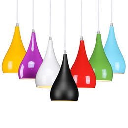 Wholesale Modern Yellow Chandelier - Modern simple aluminum pendant lighting,ceiling lamp lamps restaurant Chandelier,1 head, 3 head creative bar Chandelier