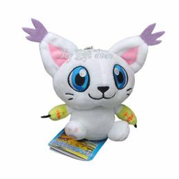 "Wholesale Animal Adventure Plush - Free Shipping Cute Tailmon 5.5"" 14cm Digimon Adventure Plush Doll Figure Toy Stuffed Animals Toy"