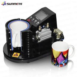 Wholesale Press Printing Machine - ST-110 NewSunmeta Automatic Pneumatic Mug Press Printing Machine , Black color.220V