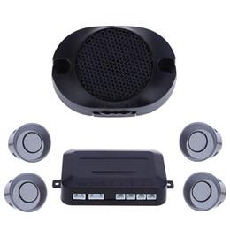 Wholesale Park Sensor Set - New 1 Set LED Parking Sensor Kit 6 Colors Car LED Display 4 Sensors For All Cars Reverse Assistance Backup Radar Monitor System