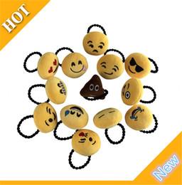 piedini per le donne Sconti Nuovo Emoji Hair Rope Hair Band Yello Carino Bella QQ Emotion Hairband Tie Anello Pin Tornante Ragazza Donna Capelli Chiusura Bastone Regalo Di Natale 2753