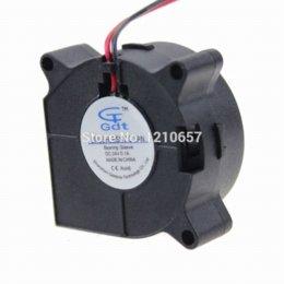 Wholesale 24v Dc Heater - 1PCS GDT DC 24V 2P 40mm 40x20mm 4cm Mini Blower Fan fan personal blower fan heater