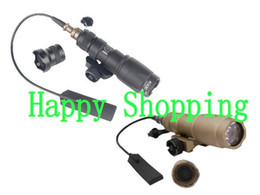 Wholesale Rail Mount Cree - M300C LED CREE Mini Scout torch flashlight 20mm rail mount for outdoors hiking