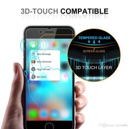 retailbox pour écran protecteur Promotion Protecteur d'écran en verre trempé pour Iphone 7 7Plus 8 8plus X RX x 2.5 maxi protecteur d'explosion Shatter avec Retailbox 10pcs / lot
