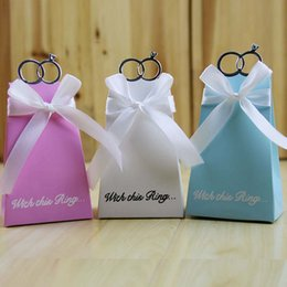Wholesale Quality Craft - Gift Boxes Wedding Favors High Quality European Blue Pink And White Diamond Decorative Luxury Gift Boxes Gift Craft