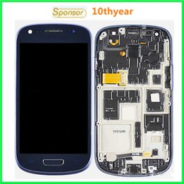 Wholesale S3 Mini Price - See Item Description have price list Original Galaxy S3 MINI I8190 LCD Retail packaging Assembly Display Touch Screen Digitizer By DHL
