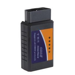Wholesale Launch Ipad Mini - Mini ELM327 Wi-Fi OBD2 OBDII WiFi Car Diagnostic Interface Scanner For iPhone, Mac, iPad,PC car scanner launch x431