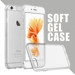 Wholesale Iphone 5s Clear Soft Case - For iPhone 7 Plus 6 6s Plus 5 5s SE Cases Crystal Gel Case For iPhone Ultra Thin Transparent Soft TPU Clear Case