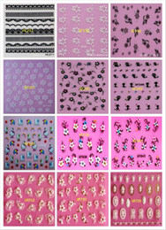 Wholesale Water Decals Rose - Wholesale- rose design Water Transfer Nails Art Sticker decals lady women manicure tools Nail Wraps Decals wholesale