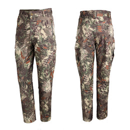 Wholesale Bdu Xxl Pants - Tactical Outdoor BDU Pants 4th Generation of Shark Skin Soft Shell Pants For Outdoor Hunting Sports CL34-0065