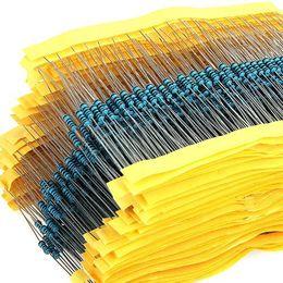 Wholesale Resistor Values - Wholesale- 600 PCS  Set 1 4W Resistance 1% 30 Kinds Each Value Metal Film Resistor Assortment Kit resistors Free Shipping DropShipping
