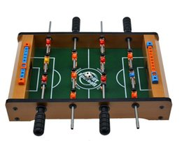 Wholesale Wholesale Indoor Soccer Game - Zorn toys-NEW TOYS wooden indoor football table soccer table soccer game 34.5*21.5*6.5cm