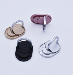 Wholesale Boots Ring - Metal Ring Phone Holder Multifunction Stand Cell Phone Holders Boot Disk Ring Fashion Bracket for iPhone 8 7 samsung note 8 s8 tablet PC New