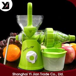 Wholesale Kitchen Fruit Press - New Manual Hand Crank Juicer Fruit Vegetable Press Squeeze Machine Durable Safe Material Function Kitchen Tool D569