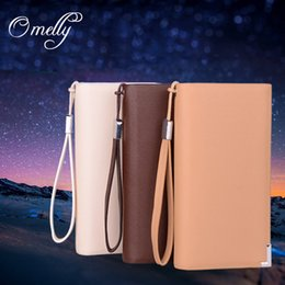Wholesale Cluth Purse Wholesale - Luxury Men Women Leather Wallet Long Style Credit Card Holder Slots Holder Stand Flip Purse Women Cluth Case Cover