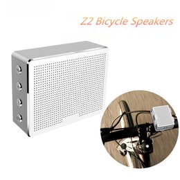 Wholesale Mobile Phone Cycling - Portable Riding Cycling Sports Bicycle Bluetooth Speaker Z2 Metal Mini Shockproof Speaker Outdoor Bass Subwoofer handsfree 32-YX