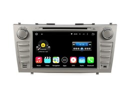 Wholesale Camry Bluetooth Stereo - 8'' Quad Core Android 5.1.1 Car DVD Stereo For TOYOTA CAMRY 2007 2008 2009 2010 With Radio GPS Map Video Multimedia