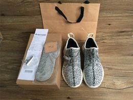 Wholesale Boot Socks Women - better quality 350 Boost Sneakers Training Shoes Kanye West Fashion Women and Men Running Sports Shoes Boots Keychain+Socks+Bag+Receipt+Box