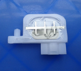 Wholesale Damper Epson - Wholesale- 20 pcs damper Square type connector damper for Epson R1800 1900 1390 2400 1100 DX4,DX5 dumper +2 pcs Cotton Swab Gift