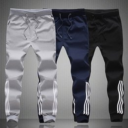 Wholesale Harem Dance Pants Wholesale - Wholesale-2016 Men Autumn Pants Harem Hip Hop Dance Male Hooded Trousers