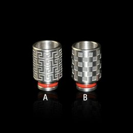 vaporizador protank rda Desconto Mais novo Aço Inoxidável Drip Tips Wide Bore bocal para 510 EGO Protank DCT Clearomizer RDA E Cigarros mods Vaporizador Atomizador Tanque
