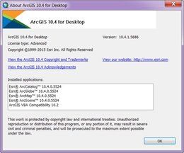 Wholesale Desktop Windows - Free shipping Esri ArcGIS Desktop 10.4.1