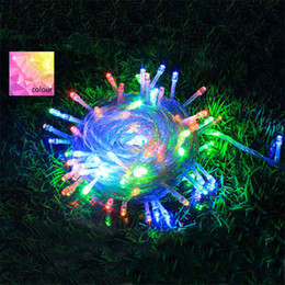 Wholesale Solar Powered Jar - Romantic Power LED Strings for Lighting New Universal 10m 100 CE LED Strings for Christmas Halloween Party Decoration