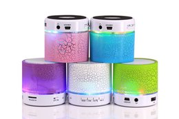 Wholesale New outdoor portable gift ideas led mobile small speakers Capsule pills wireless bluetooth speakers Small card sound with calls