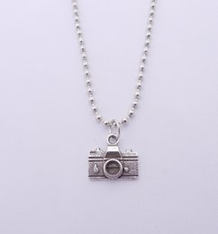 Wholesale Party Cameras - FREE SHIPPING Hot Sale Alloy Camera Necklace,N1817