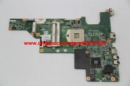 Wholesale Laptop Motherboards Presario - Original & High Quality for HP 2000 COMPAQ PRESARIO CQ43 CQ57 Series 646175-001 HM55 Laptop Motherboard Mainboard Tested