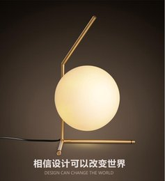 Wholesale Frosted Globe Lights - 2016 new arrivals north Europe LED Glass globe floor light bedside light flood lights AC85-265V light fixture LED night light