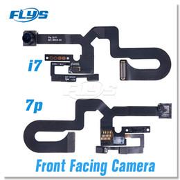 """Telecamera anteriore online-Sensore di luce anteriore di alta qualità Fotocamera frontale Sensore di luce Flex Cavo a nastro iPhon 7 7 Plus 4.7 """"5.5"""" DHL libero"""