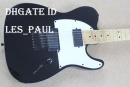 Wholesale Guitar Body Parts - Custom Shop Black Tele ARE JIM ROOT SIGNATURES guitar EMG pickup standard telecaster electric guitar black parts in stock
