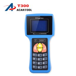 Wholesale mazda transponder keys - 2018 t300 key programmer English And Spanish T300 T 300 Key Programmer T-CODE Transponder Key V14.02 Rodan t300 code