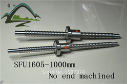 Wholesale Cnc Nut - Wholesale- cheap high quality ball screw sfu1605 L1000mm with a nut, for cnc machine