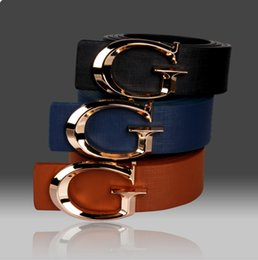 Wholesale Popular Standard - 2016 Hot Sales New Fashion Popular Mens Belts Luxury Upscale Business Style Smooth Buckle Leather Belts PD21 Factory Promotion Free Shipping