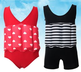 Wholesale Kid Girls Swimsuits - New Arrival Child Swimming Trunks Shorts Children's Swimwear Kids Buoyancy Swimsuit Baby Boy Girl Swim Vest for Safe Drifting