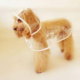 Wholesale Pet Dog Rain Coat Hoodie - New Pet Dog Hoodie Raincoat Puppy Cat Waterproof Rain Coat Dust Clothing Apparel